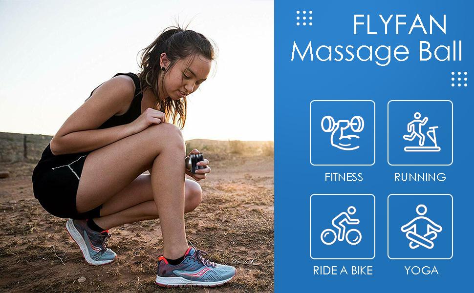 Flyfan cold massage roller ball