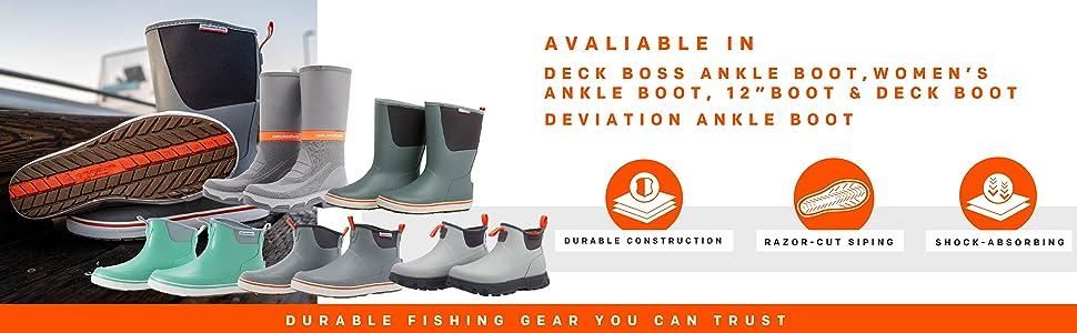 Grund/éns Deck-Boss Fishing Boots