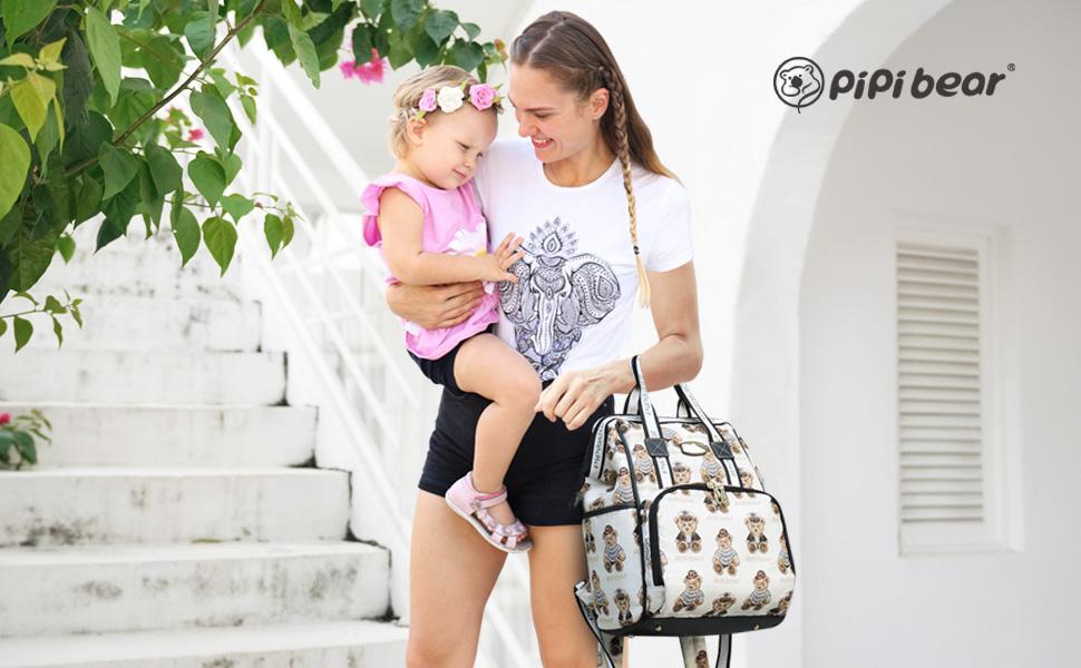 pipibear changing bag
