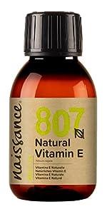 Naturligt vitamin E olja