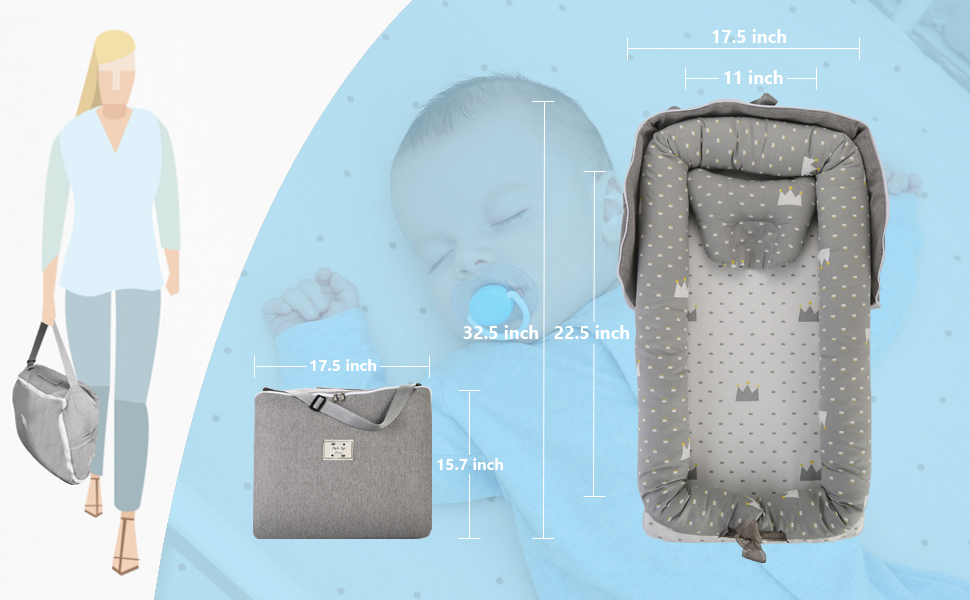 Gorsetle Baby Lounger's Size