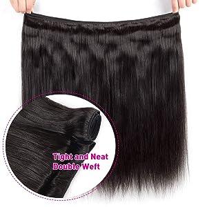 Brazilian Straight Hair 3 Bundles Human Hair Extension