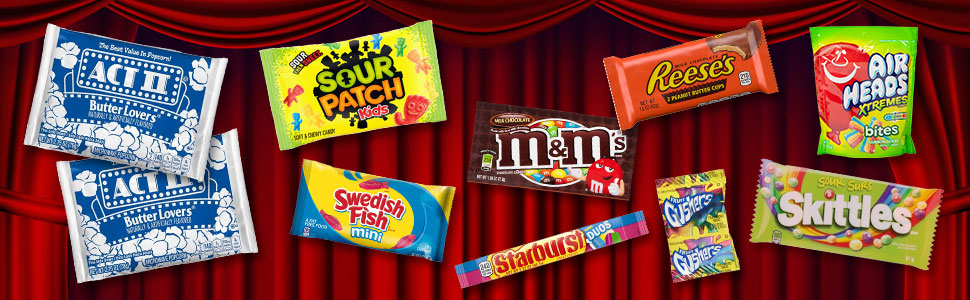 Movie Night Candy Package