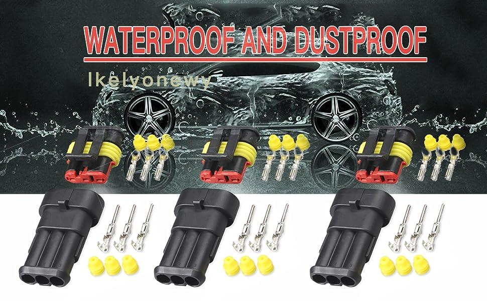 automotive waterproof electrical connectors