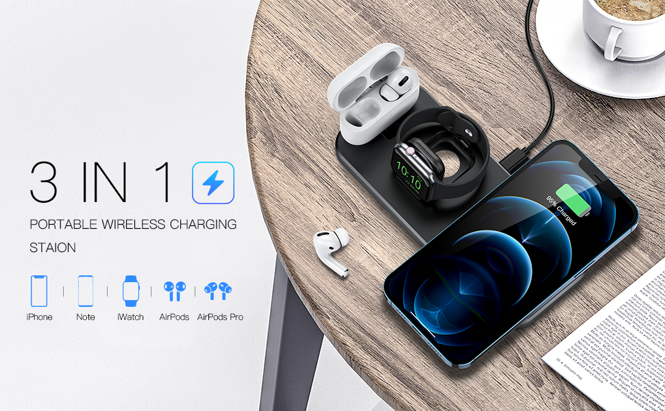 wireless charger iphone 8 wireless charger iphone xr wireless charger pad 3 in 1