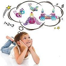 bloques magnéticos para niños