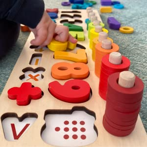 number numbers counting math preschool preschoolers stacking shapes rings smart kids toddlers learn