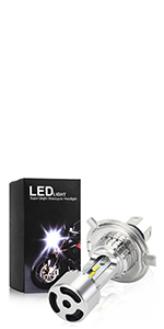Motorcycle H4  Led Headlight Bulb