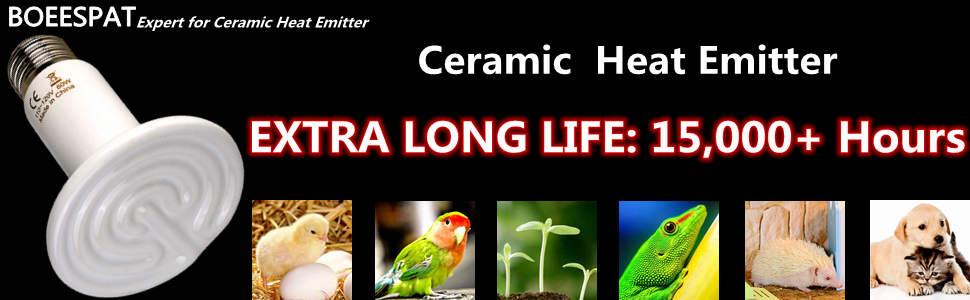 100W Ceramic Heater Poultry