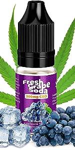200 mg Fresh Grape Soda