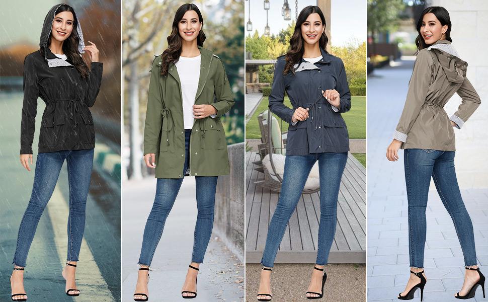 Fall jacket for women