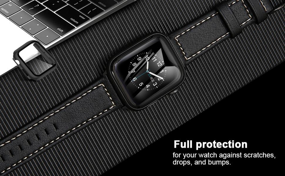 apple watch series 5 6 4  screen protector