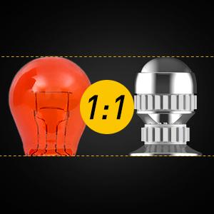 157 red bulbs