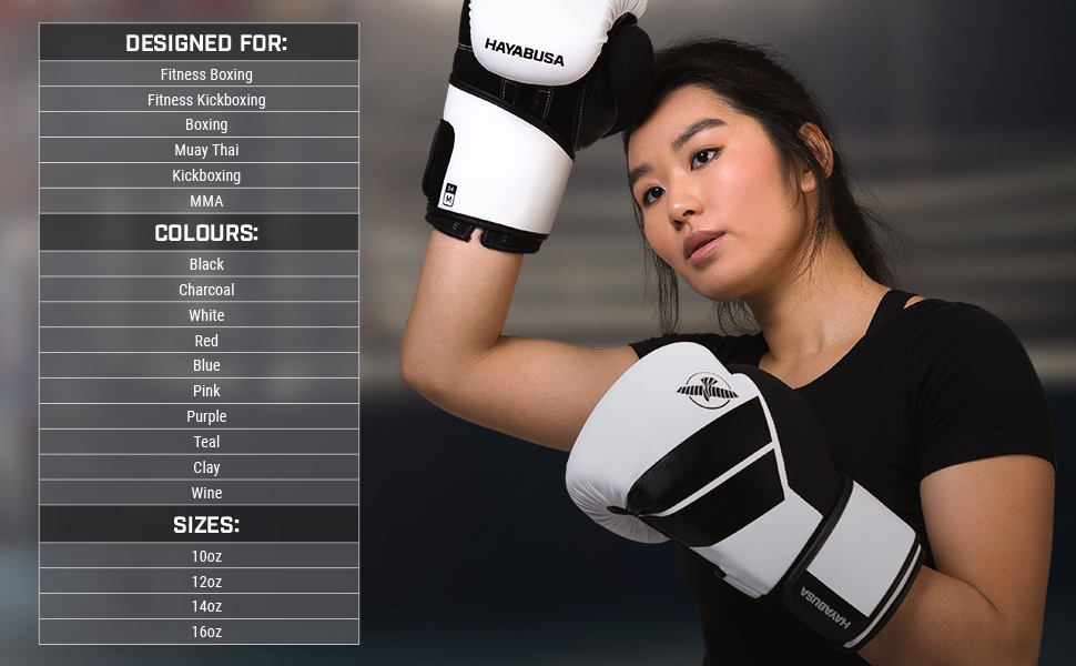 Athlete wearing white S4 Boxing Gloves wiping forehead with microfiber thumb