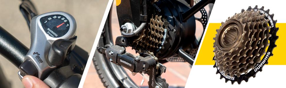 Swagtron EB7 Plus Electric Bike
