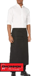 bistro apron full length durable resistant tie port authority chef works simple classic
