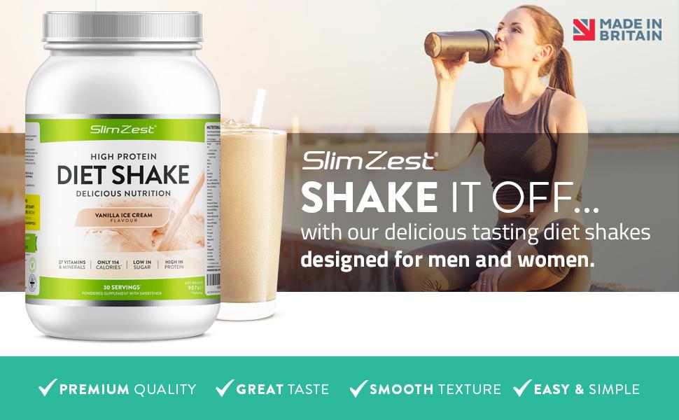Vanilla Protein Diet Shake