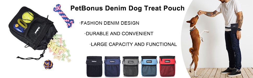 dog training bag