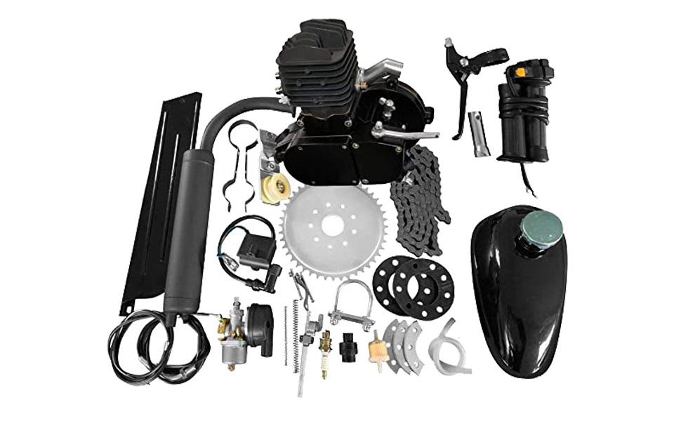 "80CC 26"" 28"" Bike Bicycle Motorized 2 Stroke Cycle Petrol Gas Engine Kit Set"
