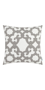 grey throw pillows