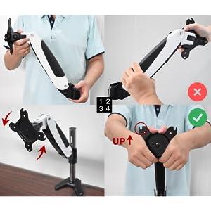 VESA Rotation Adjustment