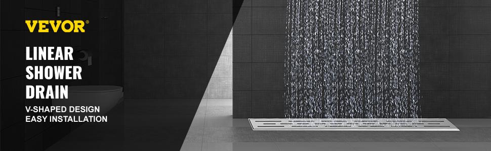 desagüe lineal para ducha Rejillas de Drenaje