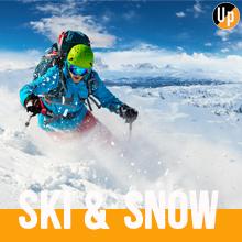 UphillSport Ski & Snow Category for Ski Snowboarding Snow Sport Merino Socks