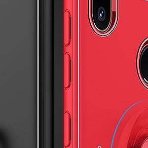 SORAKA Funda para Xiaomi Mi Mix 2S con Soporte de Anillo Funda de ...