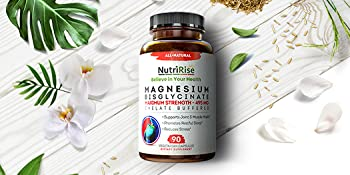 magnesium bisglycinate anxiety sleeping pills pain soother stool softener immune support brain
