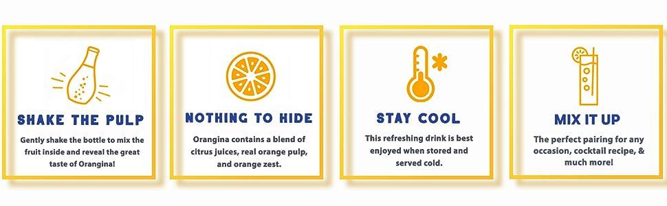 orangina citrus drink