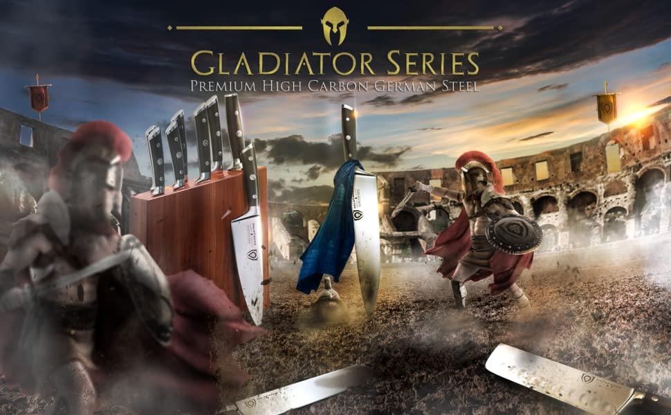 dalstrong chef knife professional shogun gladiator phantom shadow black omega high carbon stainless