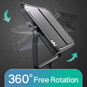 360 °free rotation
