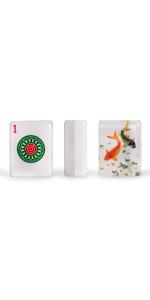 "Set of 166 American Mahjong Tiles, ""Koi"""