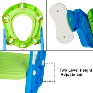 potty ladder, potty training seat, baby potty seat, kids potty training seat, anti slip potty seat.