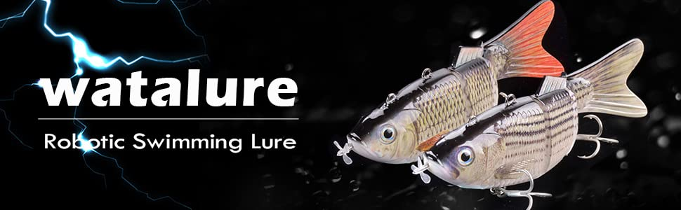 robotic swimming lures for bass