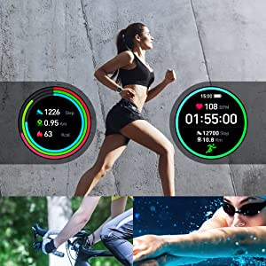 Fitness Tracker with 13 Sport Modes