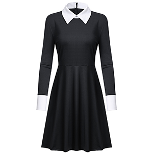 wednesday addams dress halloween dress halloween costume girls halloween costume for women