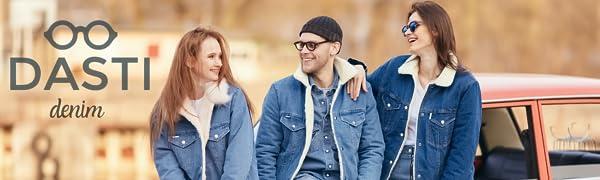 Fuax Fur Jacket Womans - Sherpa Jean Jacket Women - Furry Jackets for Women- Shearling Jacket Women