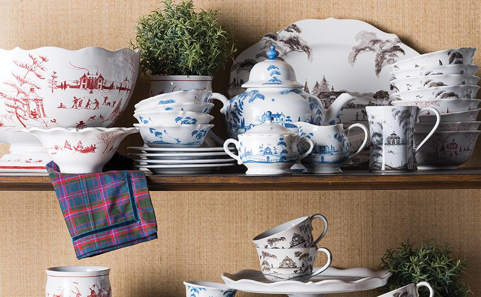 juliska country estate ceramic dinnerware