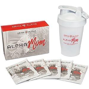 Alphamom nootropic on-the-go energy drink brain boost