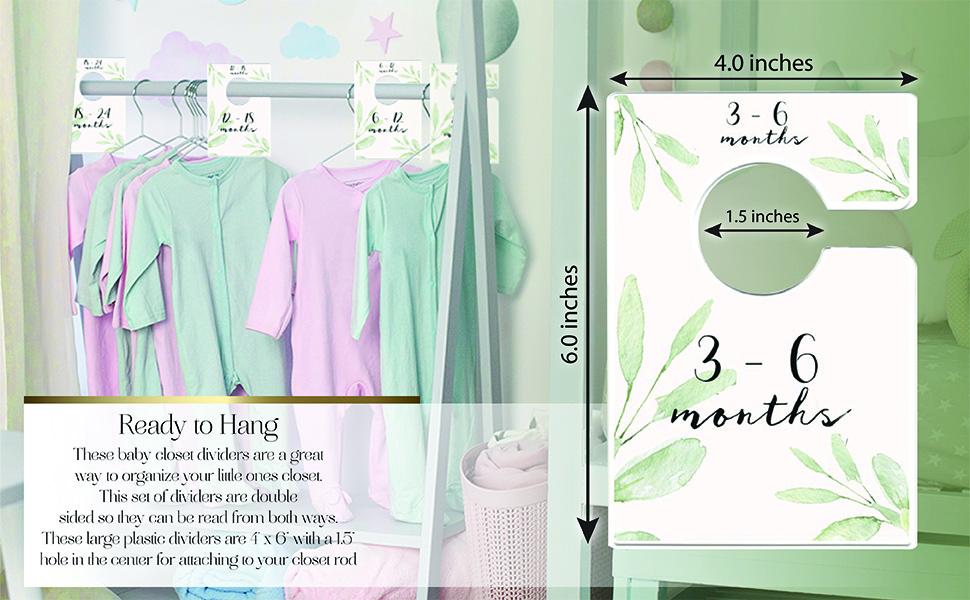closet organizers plastic nursery dividers