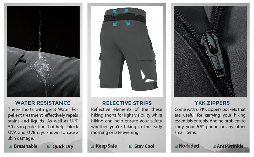 lightweight hiking shorts