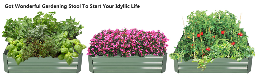 Got Wonderful Gardening Stool To Start Your Idyllic Life