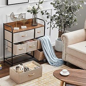 Wide Storage Dresser