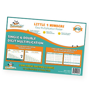 A Fun Way to Learn Single & Double Digit Multiplication