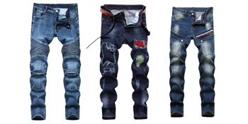 Fashion vintage street jeans