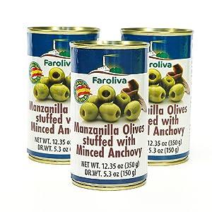 manzanilla olives anchovy