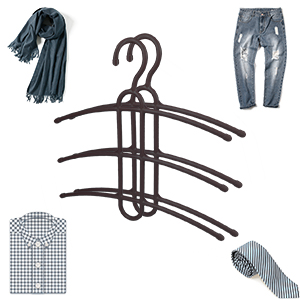 space saving clothes hangers plastic
