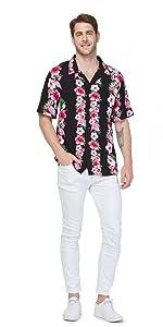 Hawaii Hangover Men's Aloha Shirt Matching Sets Matching Patterns