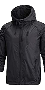 waterproof fall jacket for men